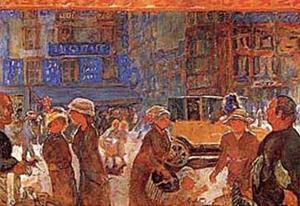 Place Clichy by Pierre Bonnard
