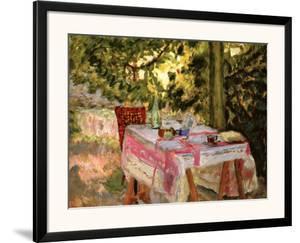 Table Set in a Garden by Pierre Bonnard