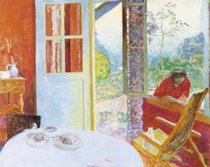 The Dining Room in the Country by Pierre Bonnard