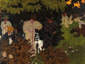 Twilight the Game of Croquet by Pierre Bonnard
