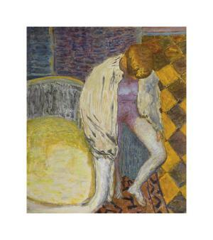 Woman Coming Out of the Bath by Pierre Bonnard