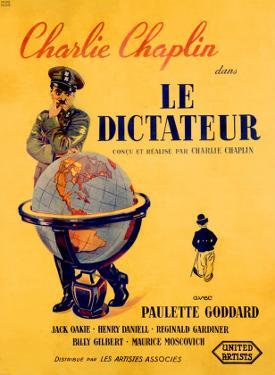 Chaplin le Dictateur by Pierre Bouvry