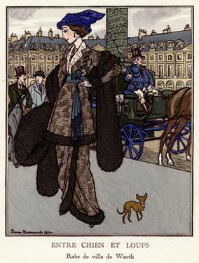 Between Dog and Wolf 1912 by Pierre Brissaud