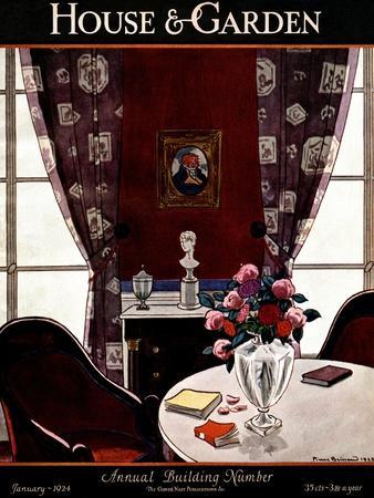 House & Garden Cover - January 1924