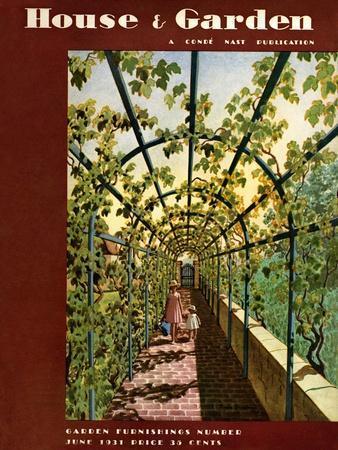 House & Garden Cover - June 1931