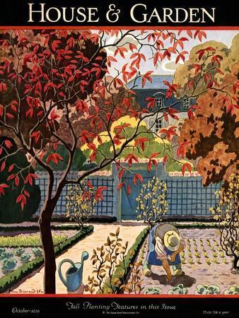 House & Garden Cover - October 1926