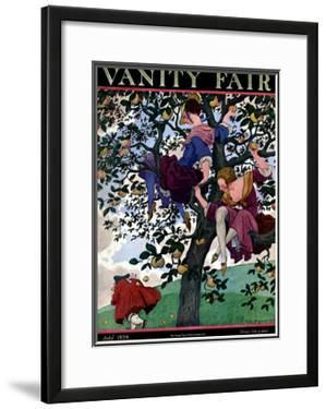 Vanity Fair Cover - July 1924 by Pierre Brissaud