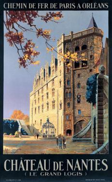 Chateau de Nantes by Pierre Commarmond