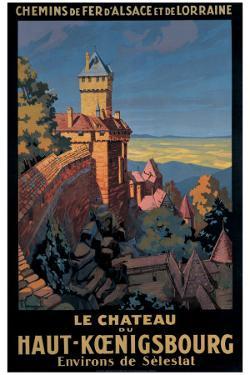 Le Chateau de Haut-Koenigsbourg by Pierre Commarmond