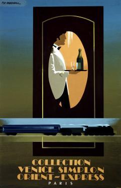 Orient Express by Pierre Fix-Masseau