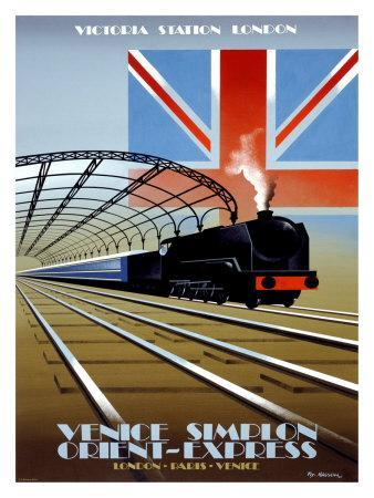 Victoria Station, London, Orient Express