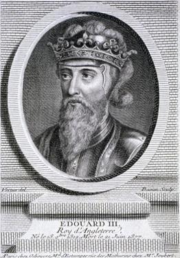 Edward III, King of England, C1347 by Pierre François Basan