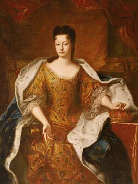Elisabeth-Charlotte D'Orleans (1676-1744) Duchesse De Lorraine by Pierre Gobert