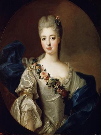 Portrait of Charlotte Aglaé of Orléans, Mademoiselle De Valois, 1720S