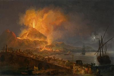 The Eruption of Mt. Vesuvius, 1777