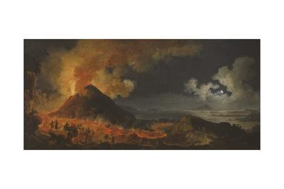 The Eruption of Vesuvius, 1771