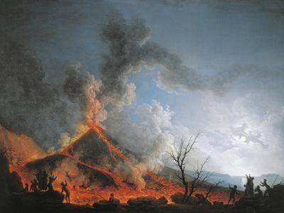 Vesuvius Eruption from the Atrio Del Cavallo