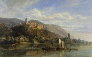 Heidelberg by Pierre Justin Ouvrie