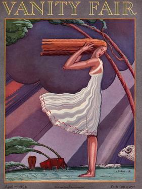 Vanity Fair Cover - April 1926 by Pierre L. Rigal