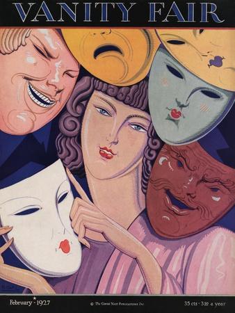 Vanity Fair Cover - February 1927