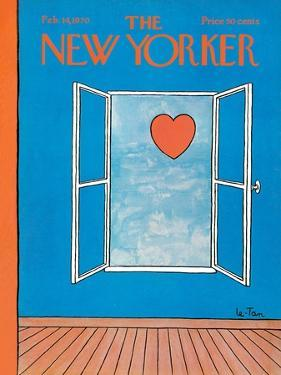 The New Yorker Cover - February 14, 1970 by Pierre LeTan