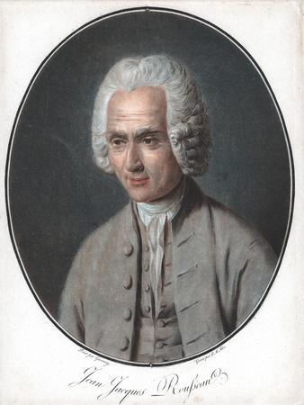 Jean-Jacques Rousseau (1712-7), French Political Philosopher