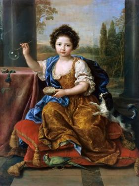 Louise Marie De Bourbon (1674-168), Duchesse D'Orléans by Pierre Mignard