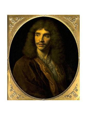 Portrait of Moliere, Ca. 1645