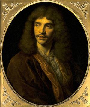 Portrait of Moliere, Ca. 1645 by Pierre Mignard
