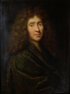 Portrait of Moliere by Pierre Mignard