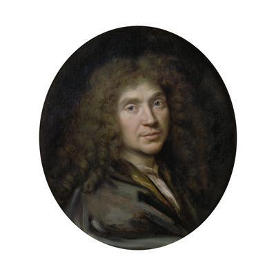Portrait of the Author Moliére (1622-167), Ca 1658