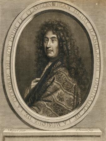 Portrait of the Composer Jean-Henri D'Anglebert (1629-169), 1689
