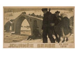 Journee Serbe. 25 Juin 1916 by Pierre Mourgue