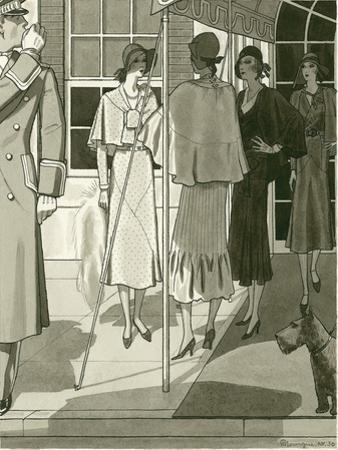 Vogue - April 1930 by Pierre Mourgue