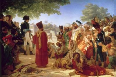 Napoleon Bonaparte Pardoning the Rebels at Cairo, 23rd October 1798 by Pierre Narcisse Guérin