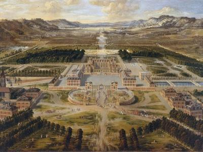 The Palace of Versailles, the Grand Trianon, Ca 1668