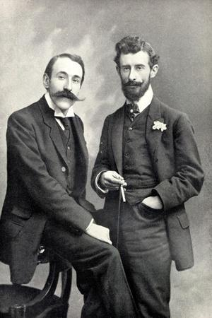 Maurice Ravel and Ricardo Vines, 1905