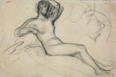 Seated Female Nude, 1881