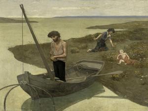 The Poor Fisherman, c.1881 by Pierre Puvis de Chavannes