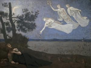 Thele Reve Dream by Pierre Puvis de Chavannes