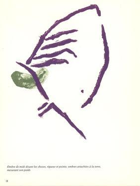 Study in Purple and Green by Pierre Tal-Coat