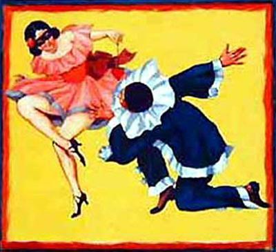 Pierrot et Colombine (c.1935)