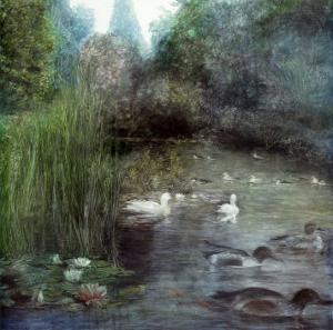 Walden Pond by Piet Bekaert