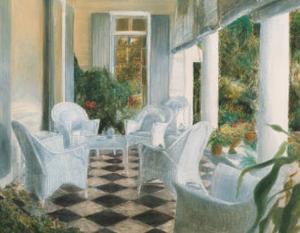 White Summer Terrace by Piet Bekaert