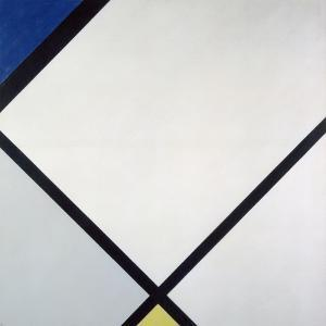 Composition I, 1925 by Piet Mondrian