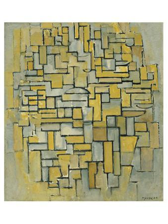 Composition in Brown by Piet Mondrian