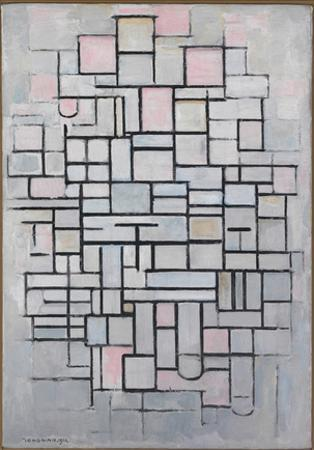 Composition No.6., 1914 by Piet Mondrian