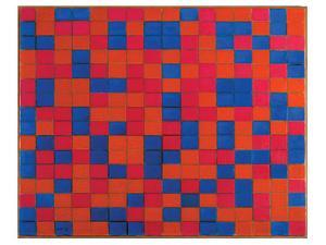 Composition with Grid by Piet Mondrian