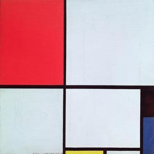 Composition with Red, Black, Blue and Yellow, 1928 by Piet Mondrian