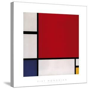 Composition with Red, Blue and Yellow, 1930 by Piet Mondrian